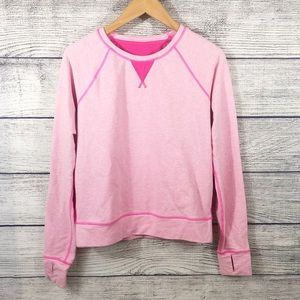 Lululemon Voyage Pink pullover sweatshirt